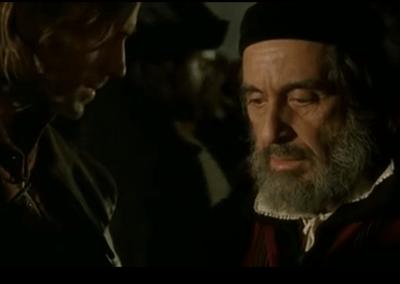 El mercader de Venecia con Al Pacino (Inglés)