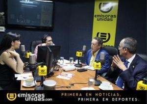 Foto: Emisoras Unidad - Expresidentes Cerezo y Colom analizan actual crisis del gobierno