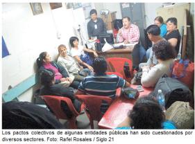 Recomiendan revisar los pactos colectivos - Rafel Rosales - Siglo 21 (PNG)