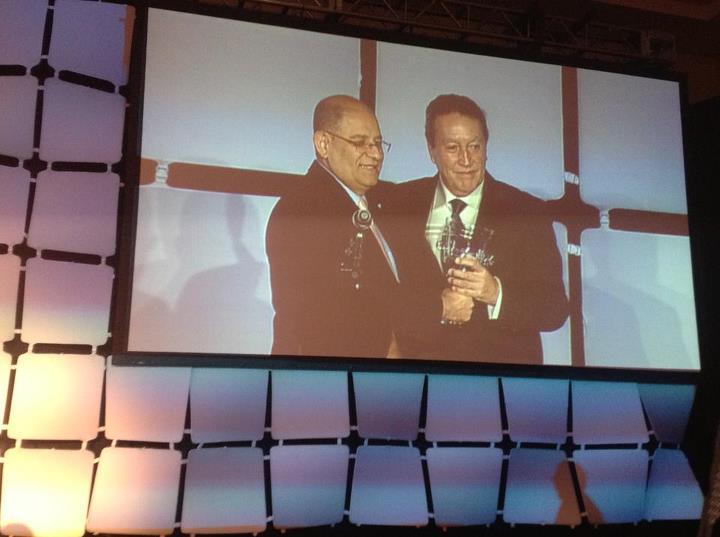 Vinicio Cerezo recibe el Global Peace Good Governance Award