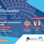 Conferencia/Debate: Distritos Electorales