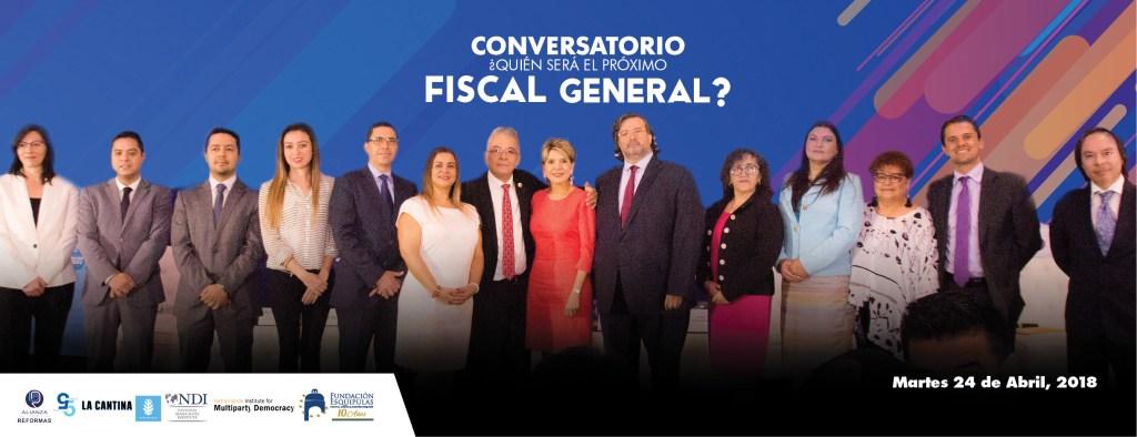 ¿Quién será el próximo fiscal General?, un espacio para conocerlos mejor