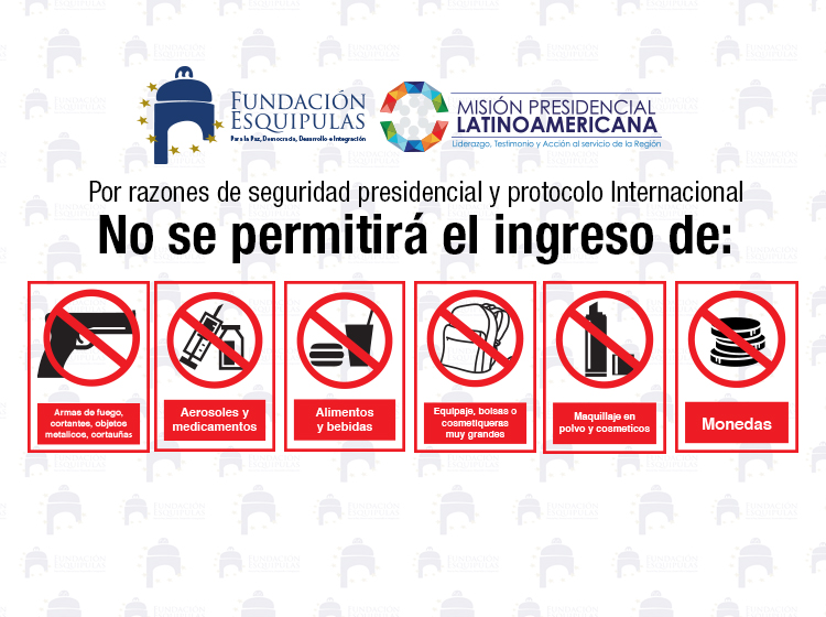 prohibiciones fb conferencia Juan Manuel Santos