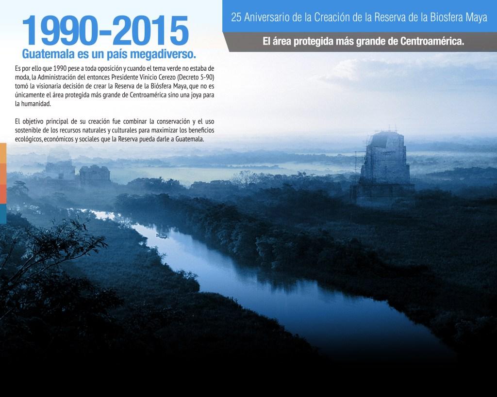 25 Aniversario de la Creación de la Reserva de la Biosfera Maya