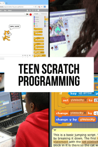 Teen Scratch Programming Course