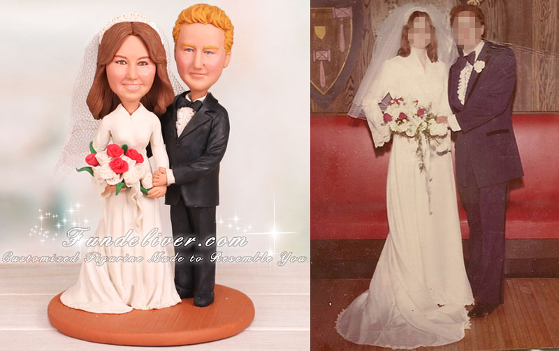 Vintage Wedding Cake Toppers and Decorations Vintage Wedding Cake Toppers