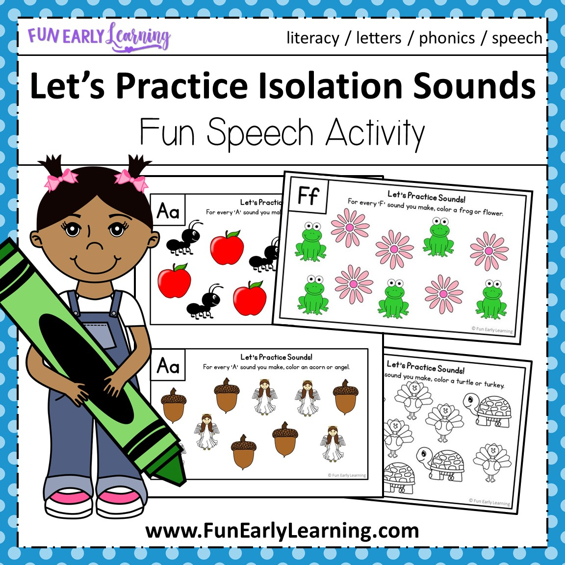 Let S Practice Isolation Sounds