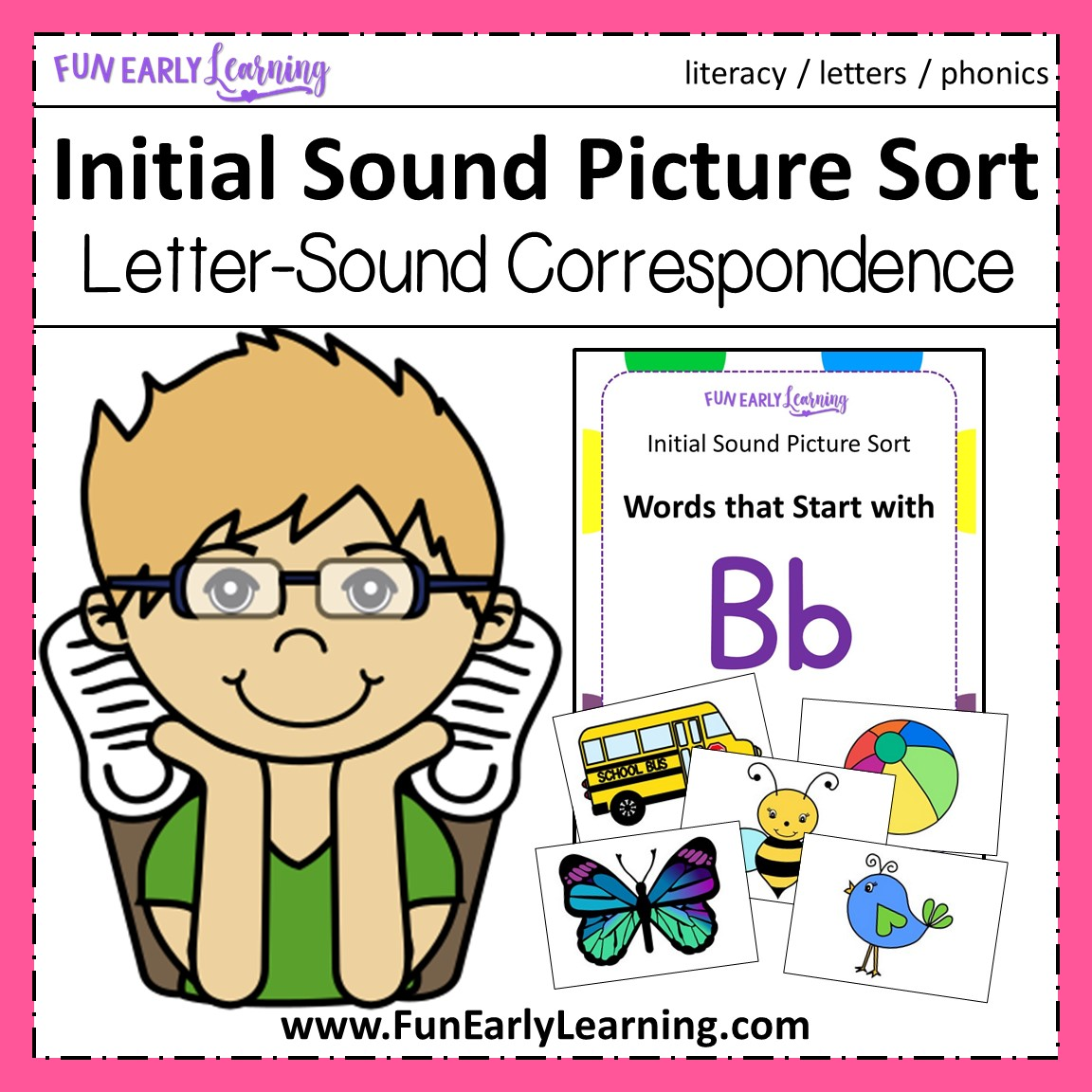 Initial Sound Picture Sort