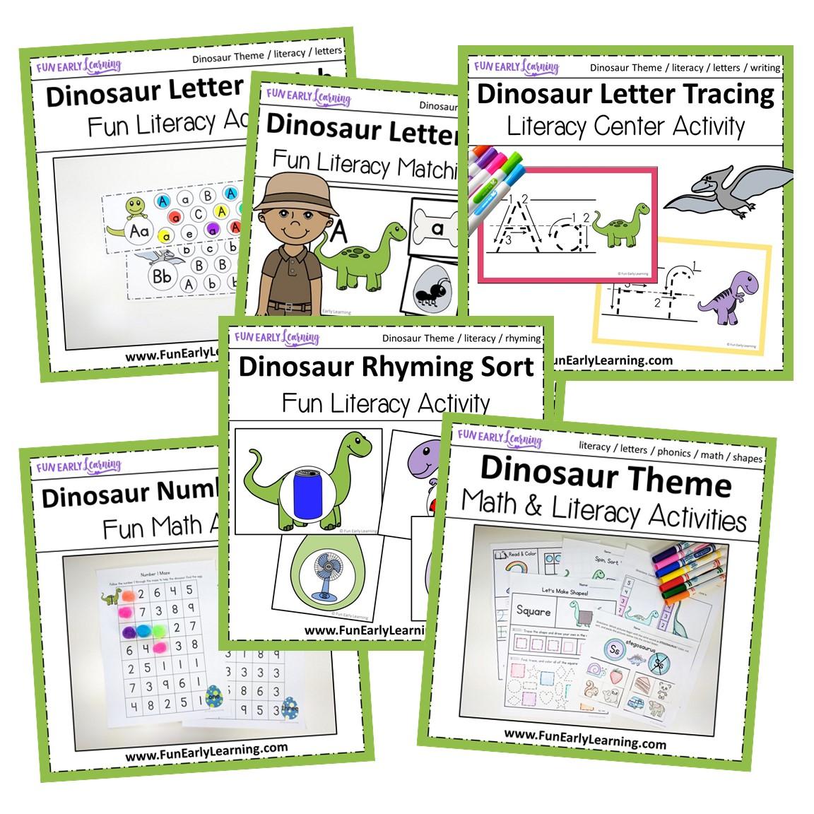Dinosaur Theme Bundle