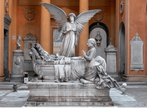 """Bologna cimitero della Certosa – dal'11 al 15 ottobre – La Storia #aportechiuse con Correnti d'Arte"""""""