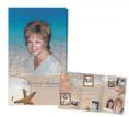 Funeral Stationery:  memorial folder female
