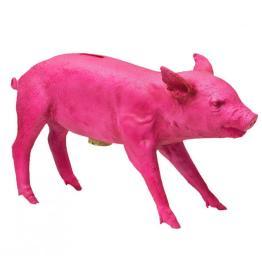 piggybank neon pink