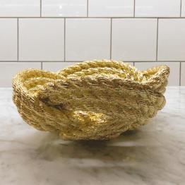 fruitschaal geknoopt touw