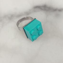 LEGO ring 4 licht blauw