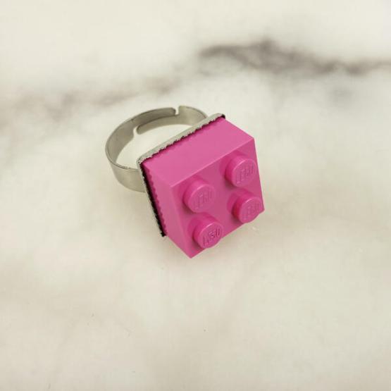 lego ring roze