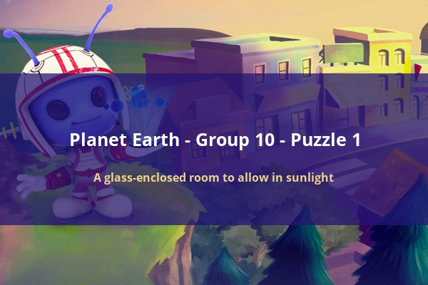 Codycross Planet Earth A Glass Enclosed Room To Allow In