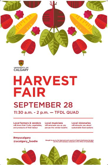 U of C Harvest Fair 2017