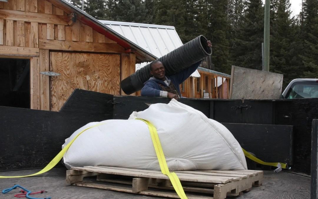 Biggest! 1000kg of rye