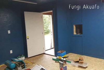 Blue room entrance