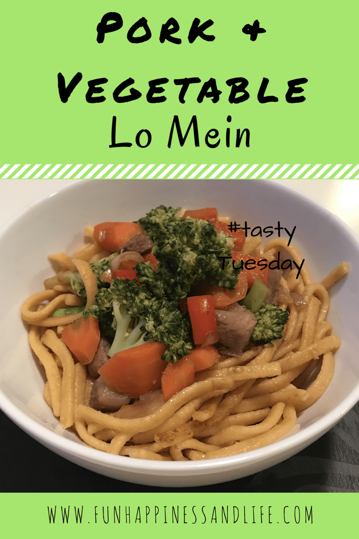 Pork & Vegetable Lo Mein