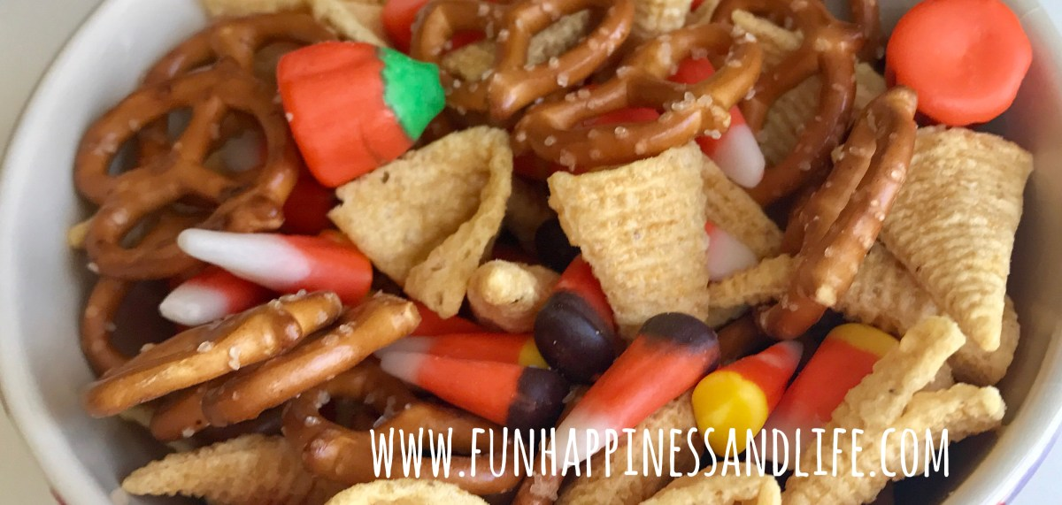 Nut Free Candy Corn Trail Mix