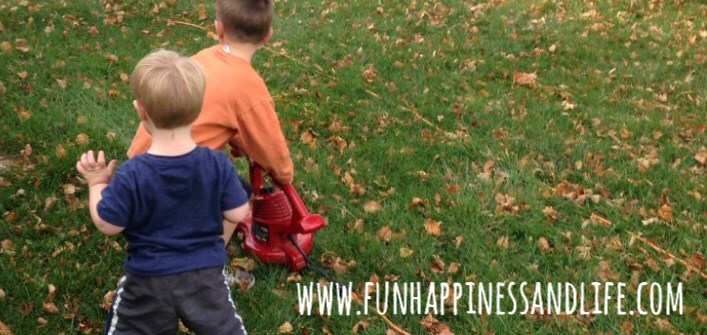 Fall yard work is a great outdoor activity to help improve your child's fine motor, gross motor and sensory development. Working therapy homework into your daily life.