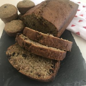 Zucchini bread and muffins to help with lunch prep and satisfy those hungry kids with a delicious snack. #peanutfreerecipe #dairyfreerecipe #zucchinirecipe #zucchinibread #zucchinimuffins #dairyfreerecipe