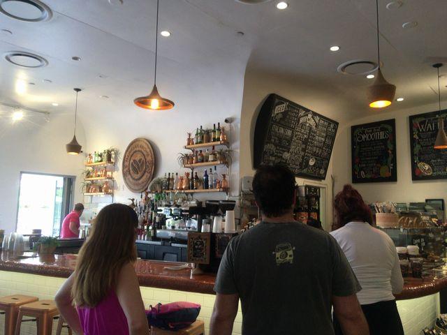 ハワイアンアロマカフェHawaiian Aroma Cafeカウンター