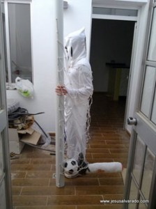 Disfraz de gol fantasma