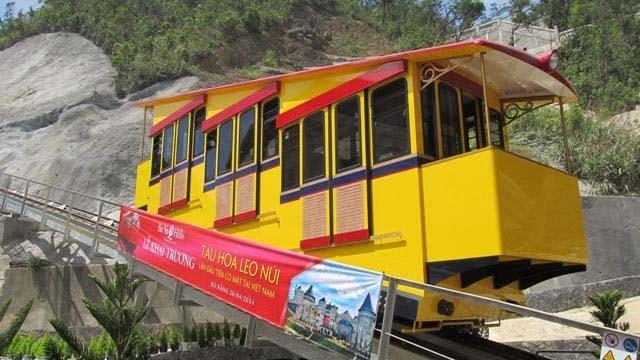 Bà Nà Hills – the first funicular in Vietnam