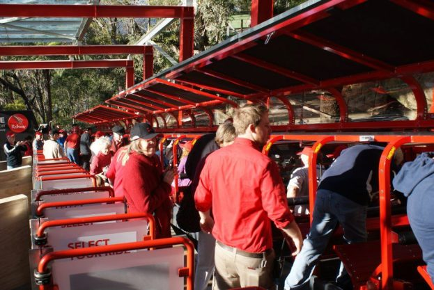 The new Katoomba Scenic Railway