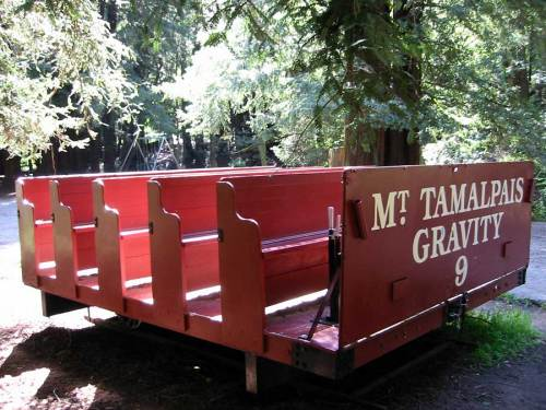Mount Tamalpais Gravity Railroad - today