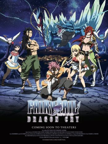 Fairy Tail: Dragon Cry -18x24-poster