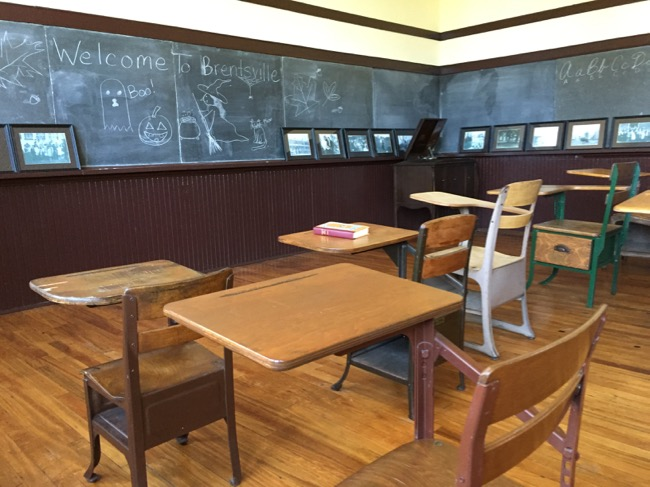 Brentsville schoolhouse