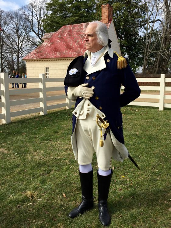 George Washington at Mount Vernon, President's Day Weekend