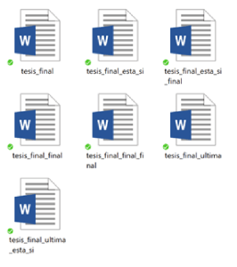 Superando la tesis