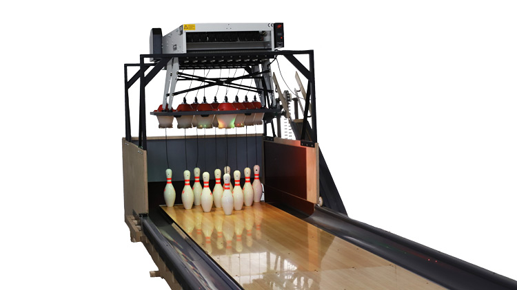 Funk Bowling Alley Equipment Empty Background 750px