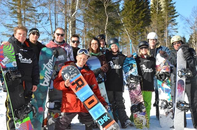 AmpuCamp Snowboard 2013