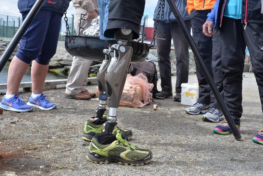 Andre etappe SunnMat Seilasen – bålpanne ved gassanlegg