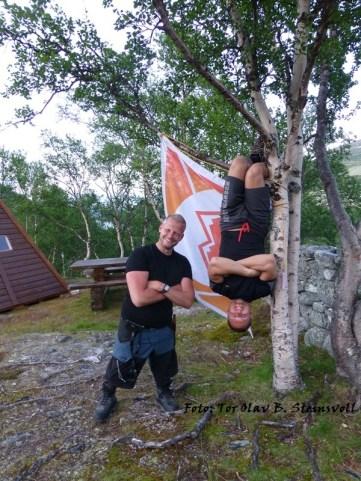 Rondane 2012 dag 6 Hanging tough