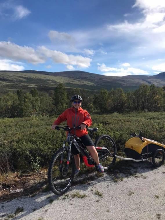 Syklisten med bein