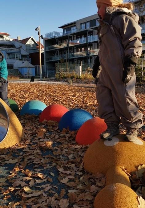 Lillehammer har fått en ny lekeplass