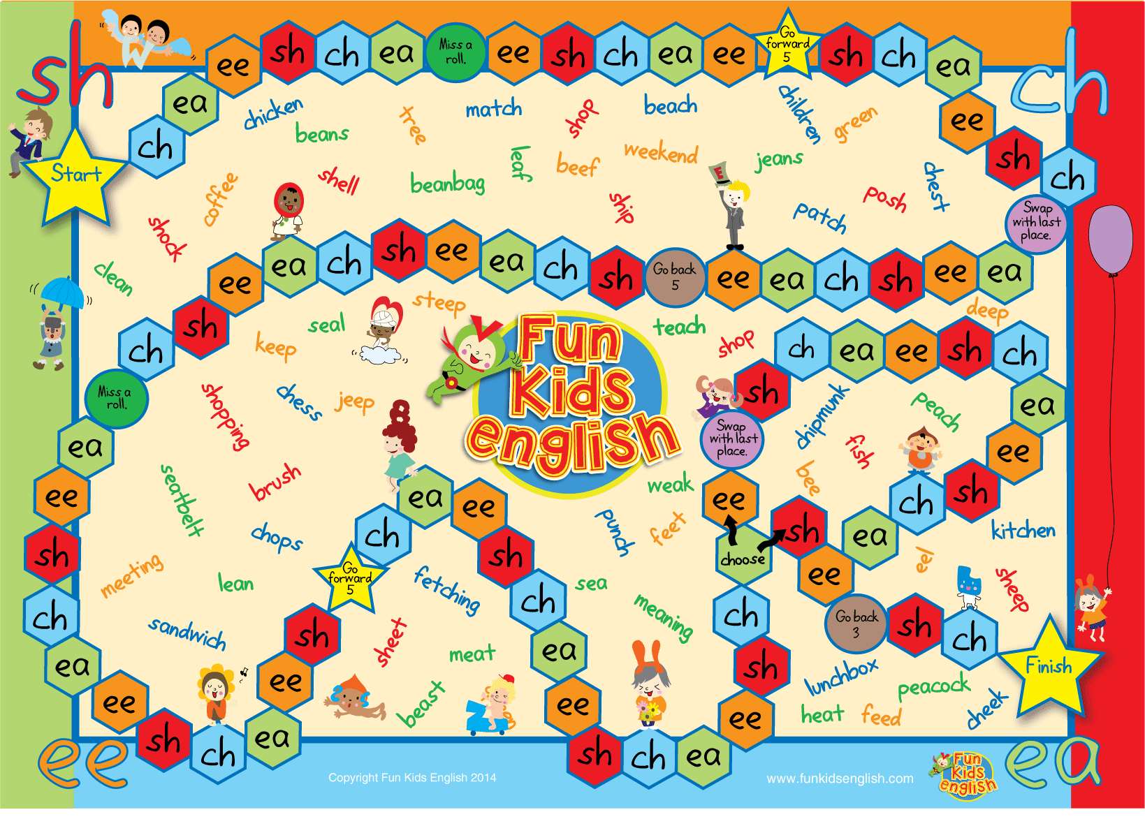 Free Phonics Board Games Children S Songs Children S Phonics Readers Children S Videos Free