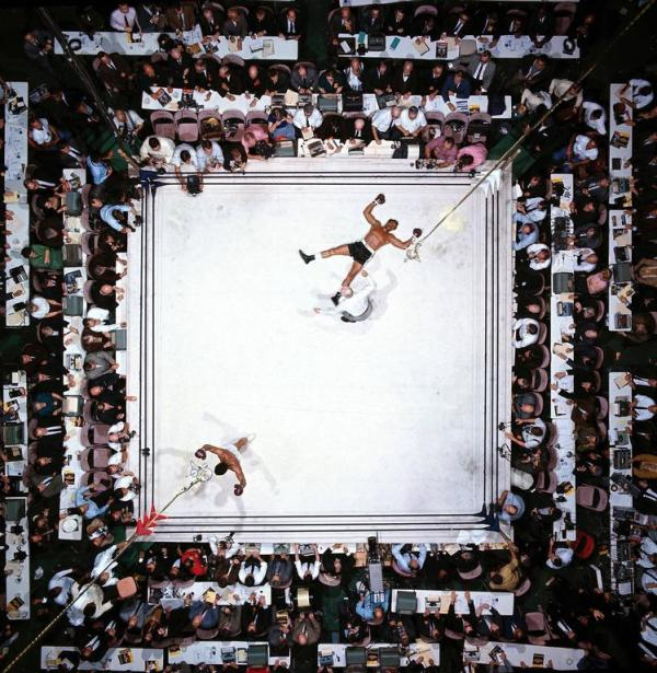 Muhammad Ali victorious after round 3 knockout