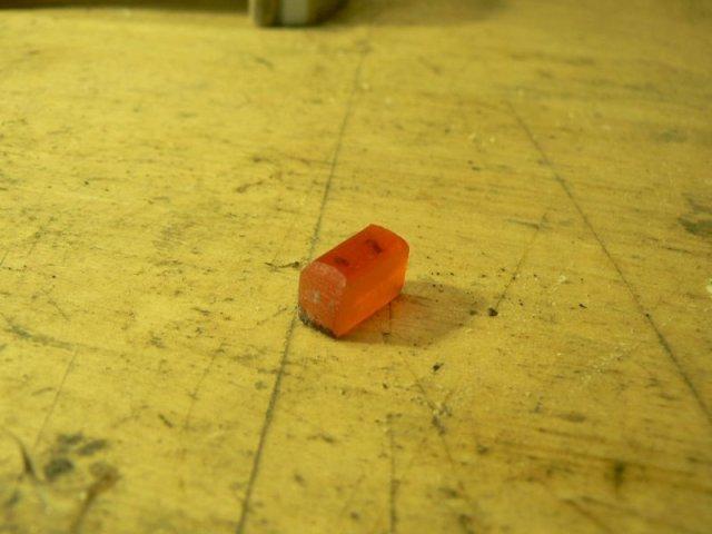 Blinkerglas aus einem Schraubenzieher