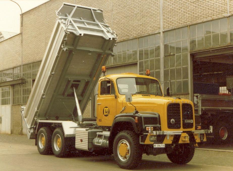 Baubericht: Saurer D-330 BN 6x6 Archive - funktionsmodellbau.ch