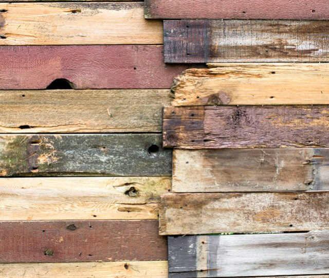 How I Built A Rustic Reclaimed Wood Garden Fence No Sawing Of The Planks Required