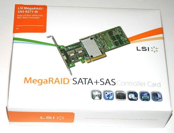 LSI MegaRAID 9271-8i PCIe Raid Controller Review