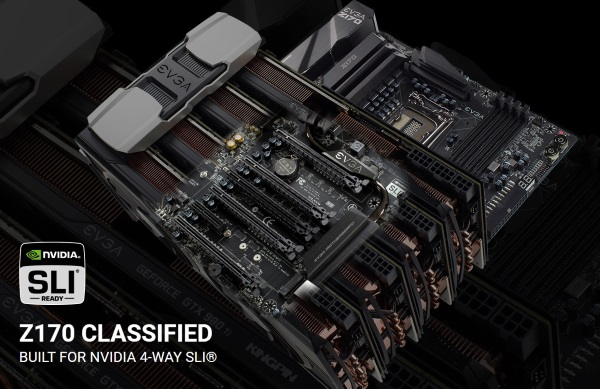 EVGA Z170 Classified 4 Way