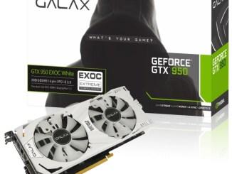 GALAX GTX950 EXOC White with box 1439978354